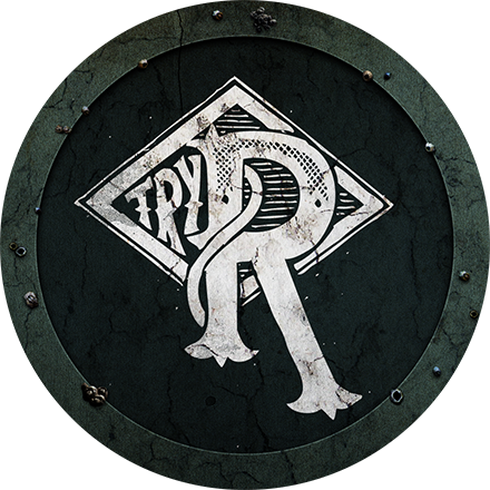 R badge